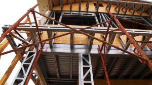 Casa cu structură metalică