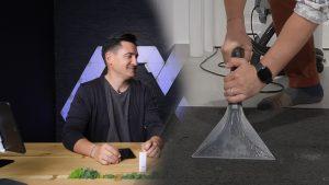 Video – Spălare cu extracție și satisfacție. Karcher SE 6.100