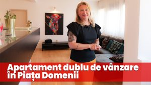 Apartament dublu de vânzare în Piața Domenii